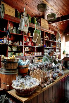 Inside Clarke Brothers Store by Christine Smith