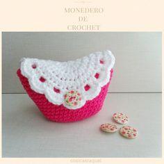 Resultado de imagen de monederos a crochet