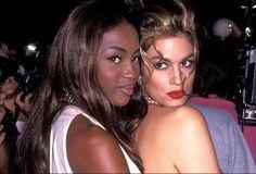 Γενέθλια για τη Cindy Crawford - Έτσι της ευχήθηκε η Naomi Campbell | Γόβα Στιλέτο Cindy Crawford, Naomi Campbell