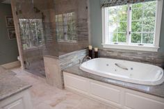 When we remodel the master bath!! With tan, brown and bronze color theme
