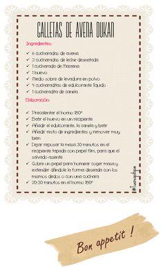 ¿Tú eres Pitipín?: Galletas de Avena Dukan: #LoMejorDeLaSemana