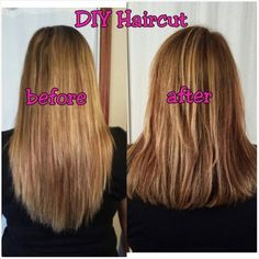 How to cut your own hair using the ponytail method layering hair layer cut images for long hair solutioingenieria Gallery