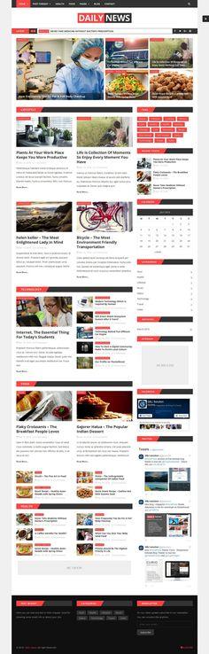 Hot wordpres magazine theme