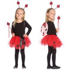 Marienkäfer Kostüm im Set