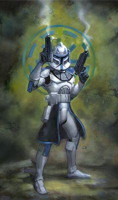 Commander Rex - Star Wars - Terese Nielsen
