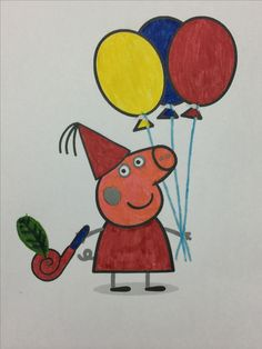 Pin By COLOR SaBay On Peppa Pig Coloring Books