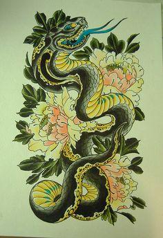 Snake Painting                                                                                                                                                                                 Mais