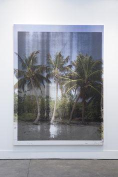 Allora & Calzadilla contract (AOC I), 2014 serigrafía sobre lino 143.8 x 182.9 centímetros