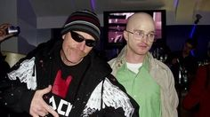 Bryan Cranston and Aaron Paul dressing up as different Breaking Bad characters - Imgur