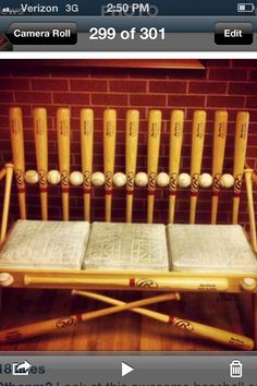 Love this Baseball chair