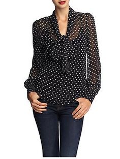 I'm all about pretty blouses lately... try this one for cheap.Tinley Road Bow Tie Blouse | Piperlime