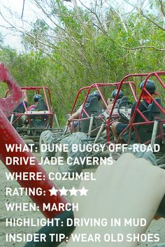 Adventures For Two: Review of dune buggy excursion in Cozumel, Mexico. www.adventuresfortwo.com