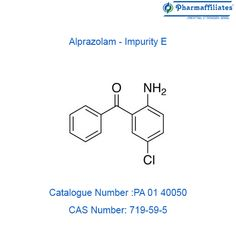Buy highly pure Alprazolam - Impurity E, CAS No : Mol. Weight : from Pharmaffiliates. Login as registered user for prices, availability and discounts. Audi Cars, Cas, Pure Products