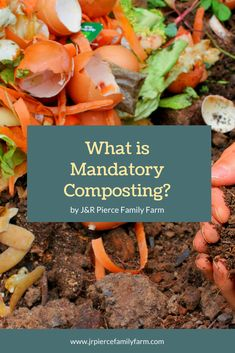 Vermont has a new law about composting - here's what you need to know for 2021 and beyond. #composting #mandatorycomposting #howtocompost #gardening #jrpiercefamilyfarm Garden Soil, Vegetable Gardening, Container Gardening, Gardening Tips, How To Start Composting, Making A Compost Bin, Organic Vegetables, Growing Vegetables, Compost Soil
