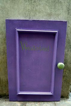 Alice Wonderland Door