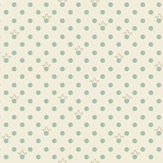 Sweet Princess by STOFfabrics, dots with crowns
