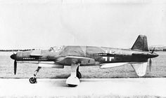 Dornier DO 335 V-3 (CP + ZH). This rare view clearly shows the changed nose design from the original Do 335 V-1