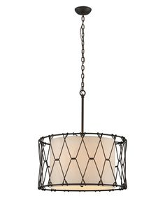 Buy the Troy Lighting Vintage Bronze Direct. Shop for the Troy Lighting Vintage Bronze Buxton Tall 6 Light Hand-worked Wrought Iron Pendant with Hardback Linen Shade and save. Bronze Pendant Light, Rustic Pendant Lighting, Dining Lighting, Drum Pendant, Troy Lighting, Lighting Ideas, Drum Shade, Wrought Iron, Light Fixtures