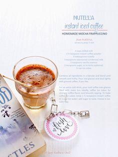 Plateful: Nutella Instant Iced Coffee, aka Homemade Mocha Frappuccino