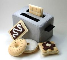 Felt Food: Kits, Patterns and Tutorials for Purchase