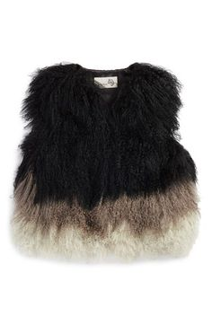 Toria Rose Genuine Lamb's Fur Vest available at #Nordstrom