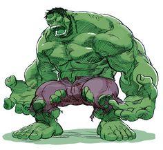 gobi goblog Étrangement il y a toute une fascination autour de Hulk, peut-être…