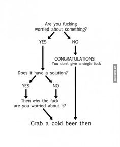 grab a cold beer then