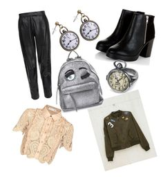 """✅"" by kiiit-thy on Polyvore featuring self-portrait, Bershka, MuuBaa and Chiara Ferragni"