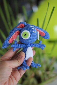 PATTERN: Fizz from League of Legends Crochet Amigurumi Doll by epickawaii on Etsy https://www.etsy.com/listing/120322166/pattern-fizz-from-league-of-legends