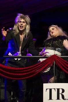 Dinner theater for a Rocky Horror Picture Show Event