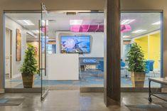 Reno by studio. Collaborative Space, Local Companies, Advertising Ideas, Brainstorm, Corporate Design, New Age, Beams, Repurposed, Coastal