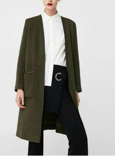Belted wool coat - Women | Women\'s fashion | Pinterest | Wool coats ...