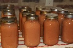 Canning Applesauce - One of my favorite things - COOKING - Knitting, sewing, crochet, tutorials, children crafts, papercraft, jewlery, needlework, swaps, cooking and so much more on Craftster.org