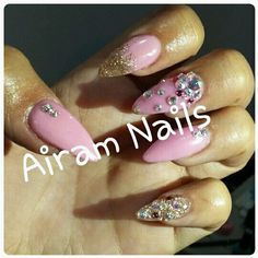 Nails&Swarosvki By: Airam Nails