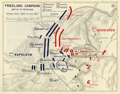 Battle of Friedland (6/14/1807; 6:00pm); French Empire vs. Russian Empire; Decisive French victory