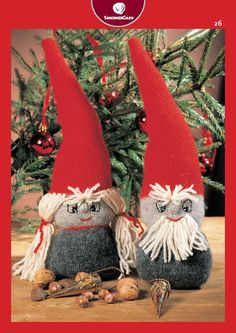 Cute knit nisse couple