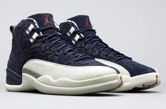 f79ea95db4d The Air Jordan 12 International Flight (Style Code  Release Date pays  homage to Japan dressed in College Navy