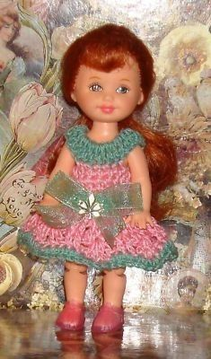 Hey, I found this really awesome Etsy listing at https://www.etsy.com/listing/71894586/handmade-crochet-dress-for-kelly-barbie