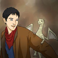 Aithusa is so cute! And now Merlin is the daddy of a baby dragon! Best Tv Shows, Favorite Tv Shows, Merlin Dragon, Prince Arthur, Merlin Cast, Colin Morgan, Fandoms, Fan Art, Deviantart