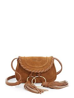 See by Chlo& Polly Suede & Leather Belt Bag Leather Belt Bag, Suede Leather, Purse Styles, Designer Shoes, Designer Handbags, See By Chloe, Online Shopping Stores, Burberry, Gucci
