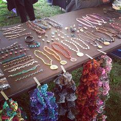 Instagram user @Rachel Garrison loved the handmade jewelry at the Appalachian Festival! #instaFrostburg