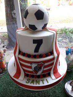 River Plate Cake #futbolriverplate