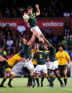 Rugby Union: Bok Forwards Rise as Wallabies Fall Rugby Pictures, Sports Pictures, Rugby League, Rugby Players, Eben Etzebeth, South African Rugby, Rugby Games, Rugby Sport, Australian Football