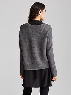 Shop Women's Sweaters & Cardigans at EILEEN FISHER