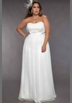 Rez longueur robe de mari e en mousseline de soie plus la for Plus la taille des robes de mariage formel