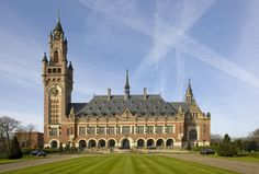 Post with 0 votes and 175 views. The Peace Palace, seat of the International Court of Justice, The Hague Bolivia, International Court Of Justice, The Hague, Travel Memories, Athens, Big Ben, Holland, Palace, Image Search