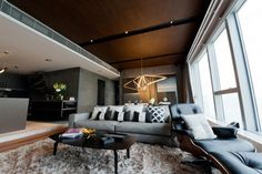 The Bachelor Pad modern living room