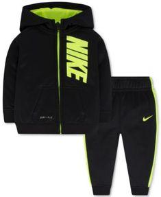Nike Baby Boys' 2-Pc. Zip-Up Hoodie
