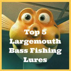 Top 5 Largemouth Bass Fishing Lures | Top 5 Largemouth Bass Fishing Lures * Fins Catcher