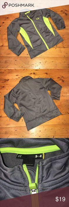 EUC Under Armour Boy's Track Jacket ✔️EUC Under Armour Boy's Track Jacket ✔️No rips, tears, or stains ✔️Size 3T Under Armour Jackets & Coats